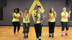 "REFIT® Dance Fitness:  ""Get My Name"" by Mark Ballas"