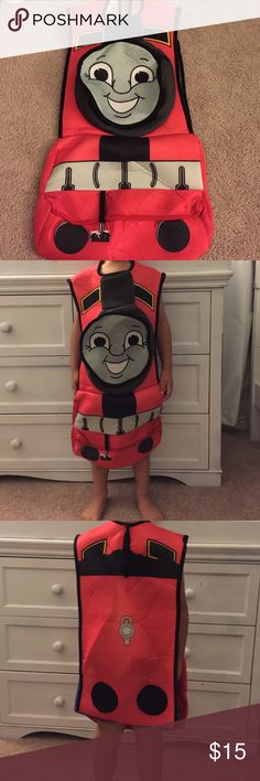 Thomas the train costume Thomas the train costume size 4-6. Excellent condition. Goes over the head Costumes Halloween