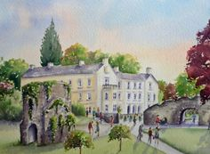 Jayne Russell Art   Aberglasney House and Gardens, Carmarthenshire