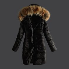 Aliexpress.com : Buy New Arrival Hot Sale Ladies Down Jacket Fur Collar Winter Jacket Color Khaki Black Brown Fashion Warm Women's Down Coat from Reliable jacket trench coat suppliers on Co Co Best Store