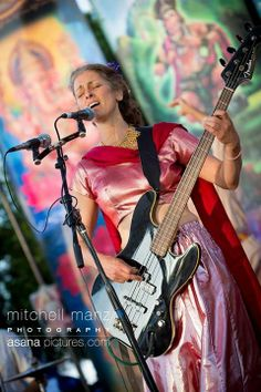 Wah! at Shakt Fest `14 - Photo by Mitchell Manz #Yoga #Music #Meditation #Devotion #Bhakti #Kirtan #BhaktiFest