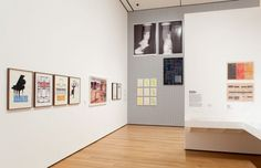 """MOMA Installation view 8 for """"Print/Out"""""""