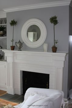 cottage fireplace surrounds - Google Search