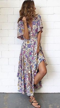 Floral Print For Simple Everyday Wear