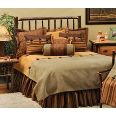 Autumn Leaf Bedding Set by Wooded River | from hayneedle.com