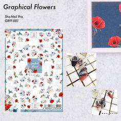 . グラフィカルフラワー💐 エキスポ先行発売では、連日完売で沢山の方にお待ちいただいており申し訳ございません😔 . 12月1日、いよいよ一般発売開始です♡ @m_d_a Mayu先生の新作シートTEXT TAGとの相性抜群💯💮 使いやすさも間違いなしです♡ . 【Graphical Flowers GRFF-001】 .  #gel #gelnail #nail #nailart #ジェル #ジェルネイル #ネイル #ネイルアート#ネイルデザイン #セルフ #セルフネイル #指甲彩绘#指甲#指甲美容沙龙#凝胶指甲#美甲#ネイルチップ#ネイルシール#네일아트#네일#샤네일 #ネイルサンプル#シンプルネイル#写ネイル#shanailwebcatalog