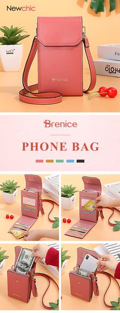 Brenice Women Solid Flap Card Bag Phone Bag Crossbody Bag is designer, see other cute bags on NewChic. Sewing Tutorials, Sewing Projects, Sewing Patterns, Clutch Bag, Crossbody Bag, Cute Bags, Fashion Tips For Women, Cross Body Handbags, Purses And Handbags