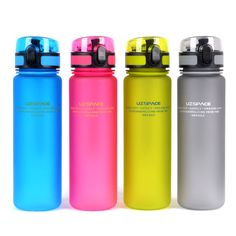 UZSPACE My Favorite Water Bottle (500ml) BPA FREE Plastic Water Cup Portable Lovers Choice For Sports Outdoor School
