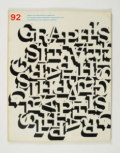 Cover of Graphis by Alan Fletcher, 1960