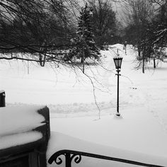 Snowy morning in #Toronto