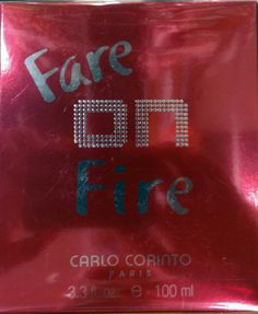fare on fire 100ml dama carlo corinto   450.00 contactanos ww.realdreamperfumes.com