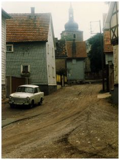 Village of Crawinkel, East Germany, July 1986