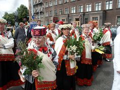 Latvian song and Dance Celebration every 5 years since 1873, next 2013.  Would love to go