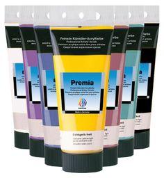 Premia ist feinste Acrylfarbe von Nerchau und besteht aus hochwertigen organischen und anorganische Pigmenten. Sie bietet höchste bis sehr gute Lichtbeständigkeit und ist zudem vergilbungsunempfindlich. Eine leicht seidenglänzende trockene Oberfläche. http://staffeleien-shop.de/de/Acrylmalerei/Acrylfarbe/Nerchau-Acrylfarben/Premia-Acryl-100ml.html?refID=pin
