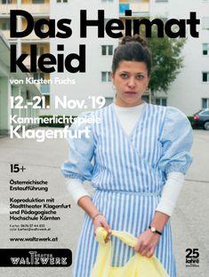 """Kirsten Fuchs """"Das Heimatkleid"""" poster/flyer Theater WalTzwerk, 2019 Theater, Women, Poster Poster, Teatro, Women's, Theatres, Drama Theater"""