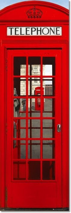 I would love to have one of these #vintage #phonebooth #red