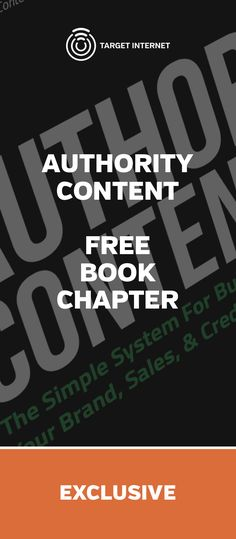Exclusive FREE book chapter from 'Authority Content' your complete guide to effective Content Marketing