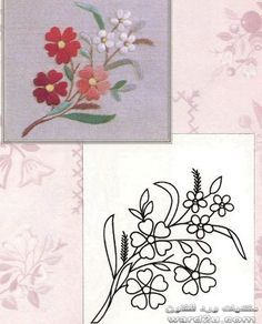 Silk Ribbon For Embroidery 5 Yards- Embroidery Design Guide Simple Hand Embroidery Patterns, Embroidery Motifs, Japanese Embroidery, Silk Ribbon Embroidery, Cross Stitch Embroidery, Machine Embroidery, Embroidery Designs, Quilling Patterns, Fabric Painting