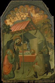 Bartolo di Fredi, The Adoration of the Shepherds, Italian, c. 1353 - 1410