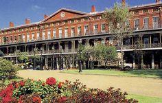 Upper Pontalba Building New Orleans Merchants Ping Louisiana History