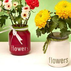 hipster vase aus nutella glas mit spraypaint und b gelperlen pearler beads jar methode. Black Bedroom Furniture Sets. Home Design Ideas