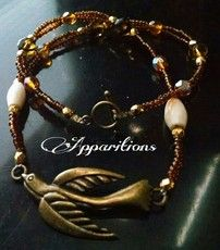 "Apparitions ""Dove"" Necklace  18"""