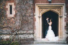 st audries park winter wedding photos