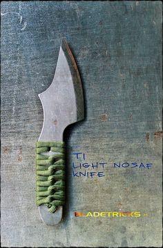 Bladetricks Titanium Light Nosaf EDC / Backup Knife