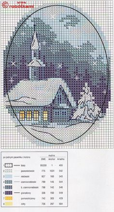 Thrilling Designing Your Own Cross Stitch Embroidery Patterns Ideas. Exhilarating Designing Your Own Cross Stitch Embroidery Patterns Ideas. Cross Stitch House, Xmas Cross Stitch, Cross Stitch Art, Counted Cross Stitch Patterns, Cross Stitch Designs, Cross Stitching, Cross Stitch Embroidery, Embroidery Patterns, Cross Stitch Landscape