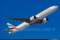 Emirates A6-ECC Boeing 777-36N/ER aircraft picture