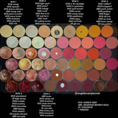 It's official... a bunch of my new COLOURPOP pressed shadows have made it to a place of honor in the head palette! I love them that much. Oh and the shadows are in an XL MUFE palette. I always get asked that question when I do posts like this.  Also a few weeks ago I decided to separate out all my indie stuff and organize it by brand. Just didn't want you guys to think I don't love my indies. Obviously I do, I post them all the time. It's just much easier for me to find what I'm looking for…