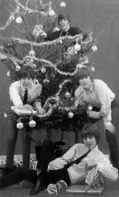The Beatles at Christmas