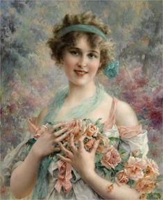Artist Emile Vernon 1800's