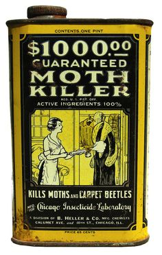 the good old days, when one could use products by the insecticide society in ones home