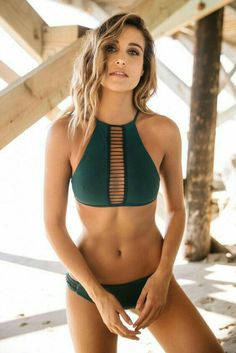 Cheap suits for women, Buy Quality suit thong directly from China suit suit Suppliers: Swimsuit Sexy Bikini Set High Nexk Swimwear Women Padded Swimming Suit for Women Halter Bathing Suit Thong Biquini Beachwear Halter Bikini, Bikini Swimsuit, Sexy Bikini, Bikini Boho, Bikini Babes, Women Bikini, Bikini 2018, Bikini Beach, Bikini Models