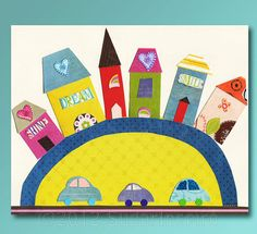 Nursery Art Print Kids Room Decor Baby / Children by SugarInspire, $14.95