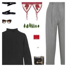 """""""Untitled #5255"""" by amberelb ❤ liked on Polyvore featuring Acne Studios, Isabel Marant, For Love & Lemons, Mulberry, Thierry Lasry, Prada, Miu Miu and JudeFrances"""