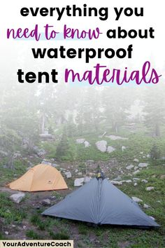 I bought a lot of my early camping and hiking gear without fully understanding what makes them waterproof. More importantly, I had no basis for understanding what made one item good at being waterproof and another terrible at it. You're probably wondering something similar. Check out this post to learn everything you need to know about waterproof backpacking tents and what they're made of.