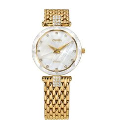 Facet Strass Swiss Ladies Watch – Hanu - Shop All Jewels of Life Mesh Band, Swiss Made Watches, Faceted Glass, Swarovski Jewelry, Stainless Steel Bracelet, Fashion Watches, Diamond Cuts, Bracelet Watch, Quartz