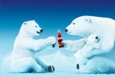 Coca Cola Misie Polarne Rodzina