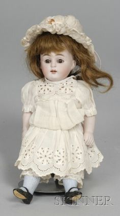 All-Bisque Doll | Sale Number 2355, Lot Number 684 | Skinner Auctioneers