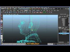 Basic bipedal character rigging setup in Maya - Part 2 of 8 - YouTube