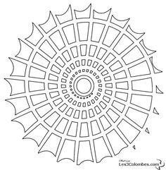 coloriage de mandala - Google Search
