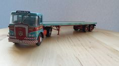 Pollock scotrans ltd Atkinson borderer CC12504 flatbed trailer