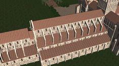 Cluny III D Romanesque, Base, Architecture Today, Romanesque Art