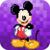 My Disney Outlet: Apps Disney List, Create List, App Of The Day, Apple Products, Pixel Art, Free Apps, Mickey Mouse, Ipad, Iphone