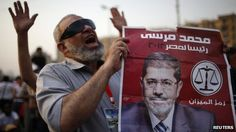 The Muslim Brotherhood's Mohammed Morsi has been declared the winner of Egypt's presidential election run-off. (via BBC News)