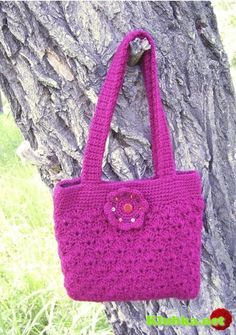 "crochet bag - Сумочка ""Вишня"" крючком"