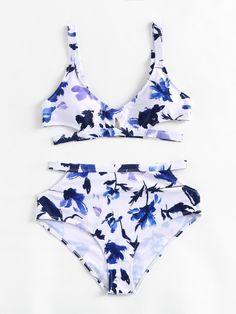 Shop High Waist Cut Out Bikini Set online. SheIn offers High Waist Cut Out Bikini Set & more to fit your fashionable needs.