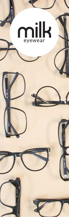 MILK Eyewear Prescription Glasses $95 https://www.milk-eyewear.com/
